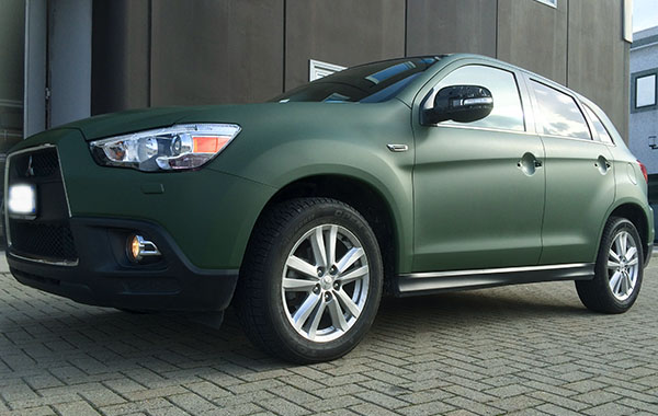 Nissan ASX Green Matt